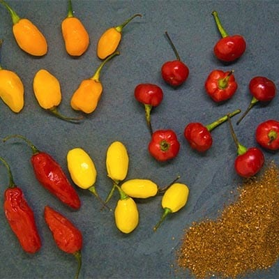 seeds and peppers